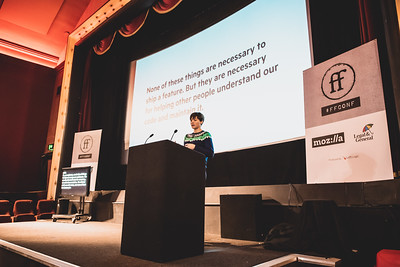 Photo of Alice Bartlett at ffconf