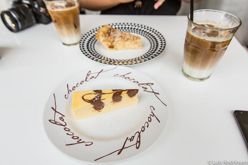 Tarta de queso (y de manzana) de Matsunosuke N.Y.