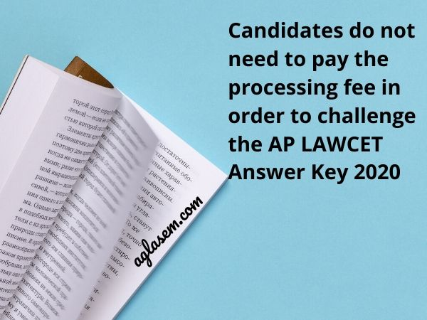 AP LAWCET Answer key 2020