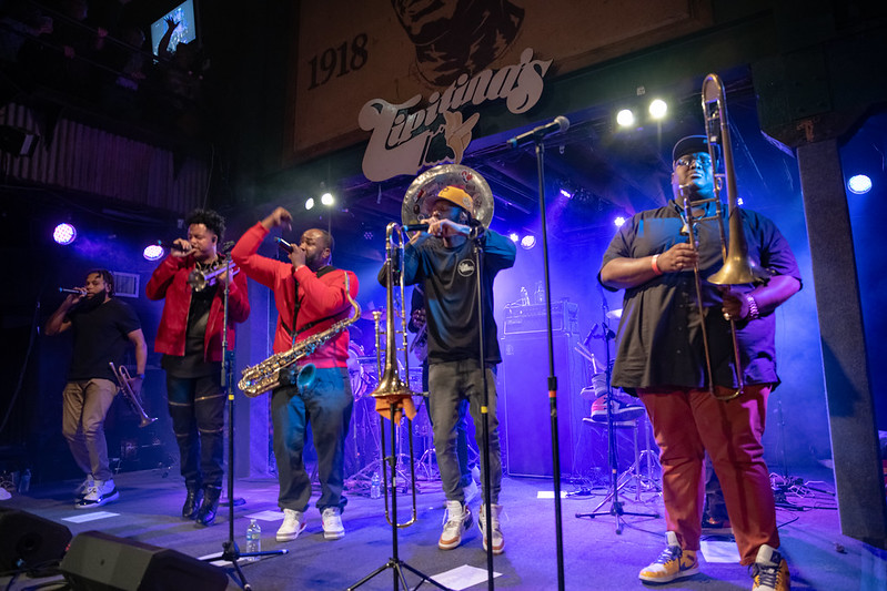 The Soul Rebels 'Poetry In Motion' Release Party