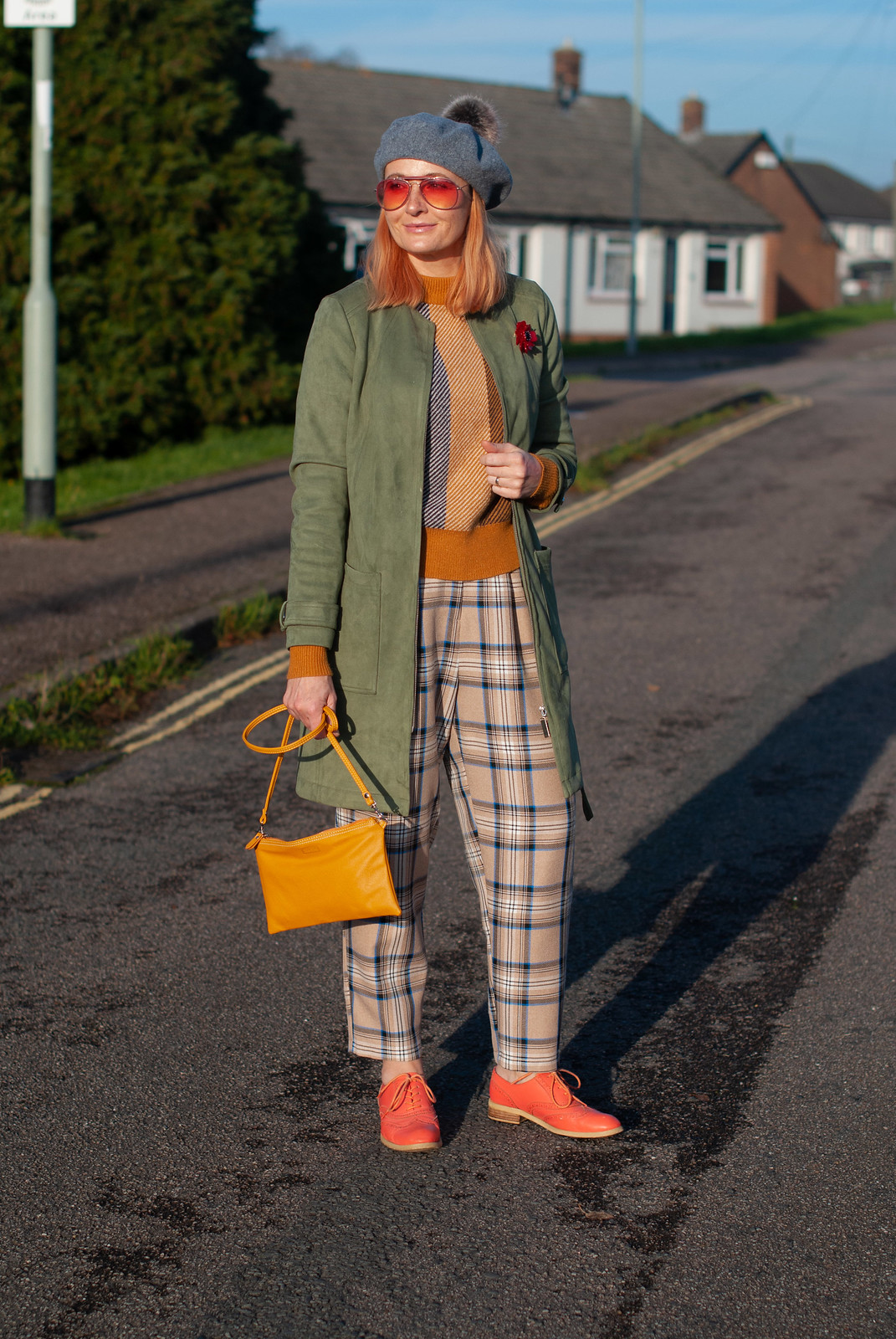 Pattern Mixing 101: Stripes and Checks in Winter | Not Dressed As Lamb, Over 40 Fashion and Style Blog