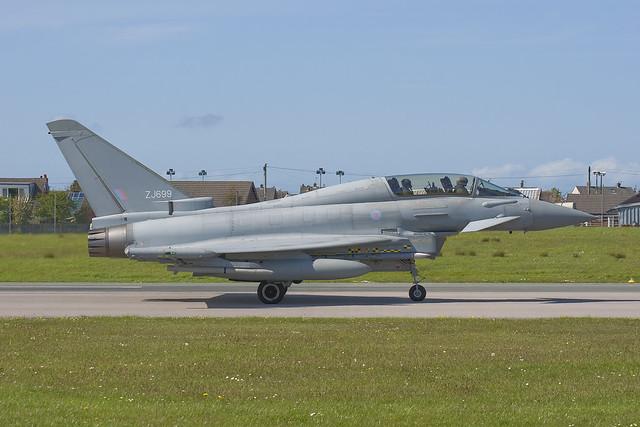 ZJ699/IPA1 Eurofighter EF-2000 Typhoon T1 [PT001/IPA1]
