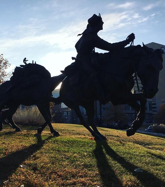Pioneer Spirit Park. Omaha, NE