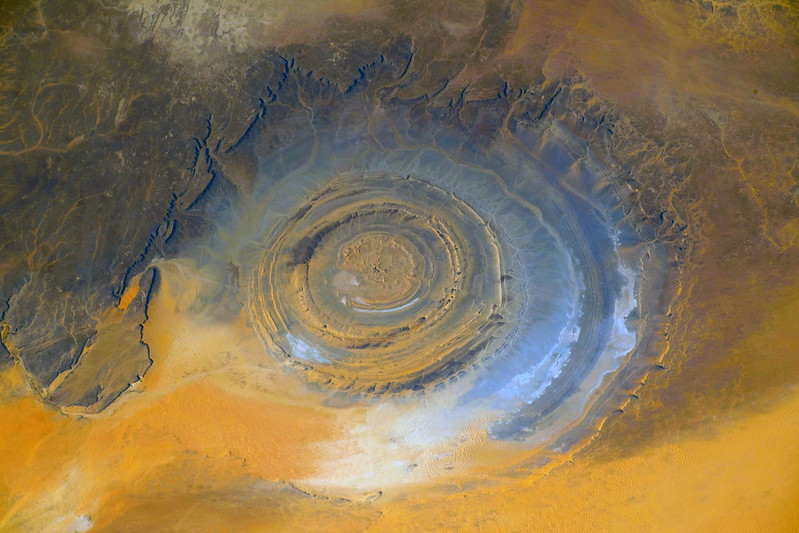 Richat Structure, Almost Straight Down, variant