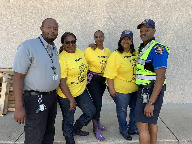 2019 UT Police at Houston Boot Walk Photos