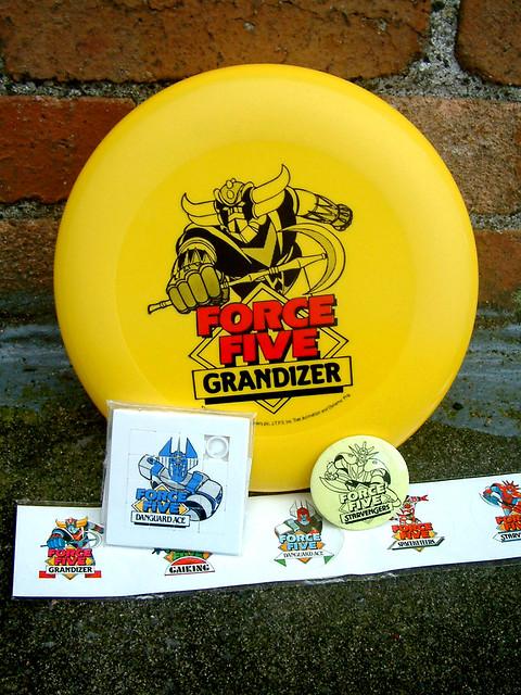 Force Five Frisbee Set