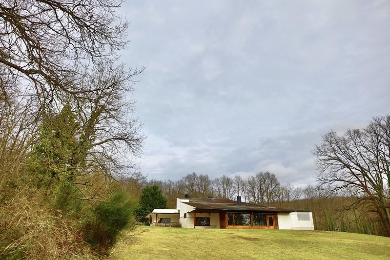 Maison Louis Carré construite par l'architecte finlandais Alvar Aalto