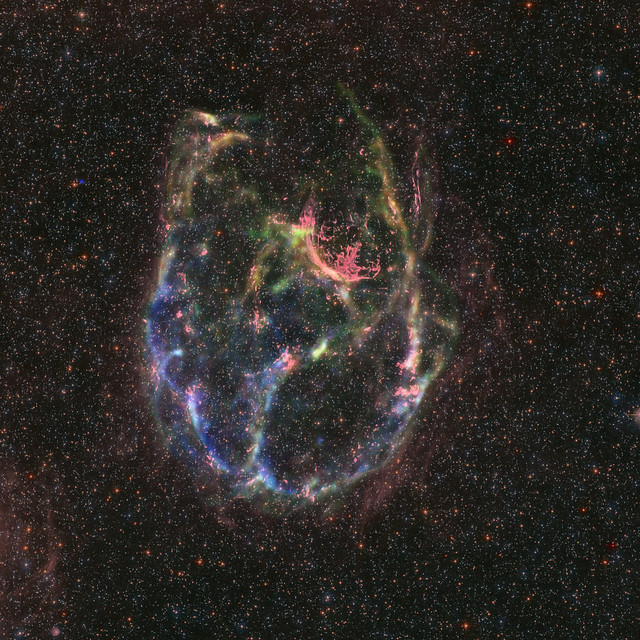 X-ray & Optical Image of SNR J0534.2-7033 (DEM L238)