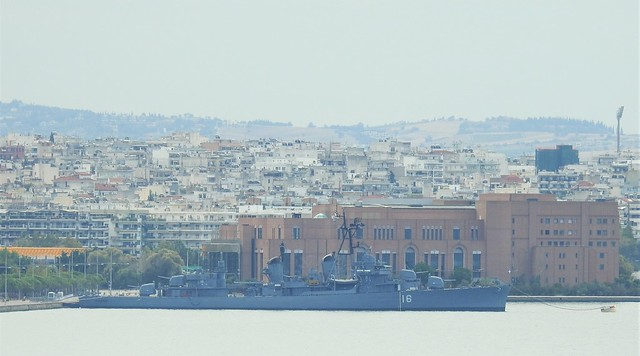 Greek Navy Vessel - Thessalonica