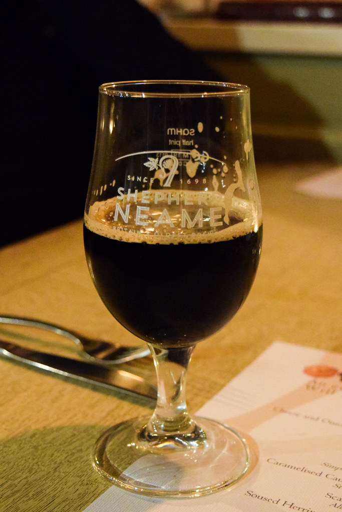 Stout at The Compasses Inn and The Small Holding Guest Chef Dinner.