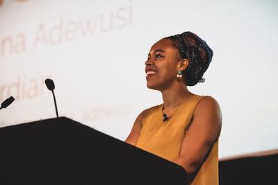 Photo of Amina Adewusi at ffconf