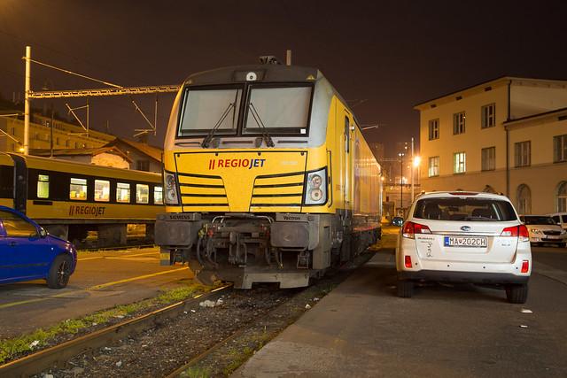 Regiojet 193 227 Bratislava hlavná stanica