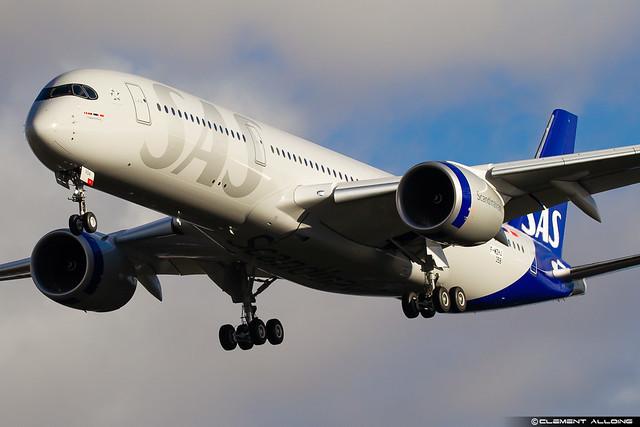 SAS Scandinavian Airlines Airbus A350-941 cn 358 F-WZHJ // SE-RSA
