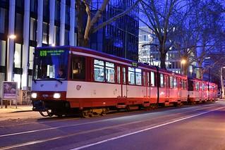 (D) Düsseldorf | Rheinbahn 4246 | U78 | 08.02.19