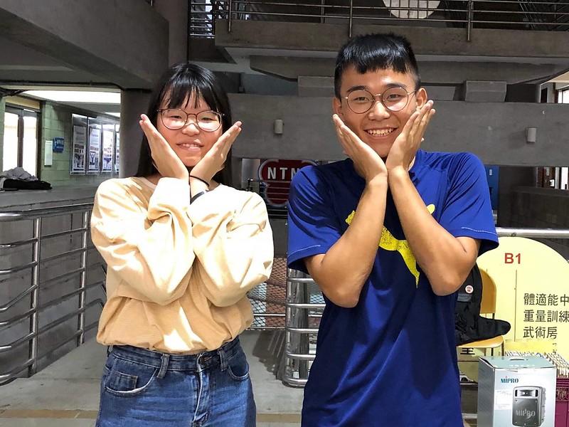 歷史啦啦總籌陳新慈(左)羅懷傑(右)