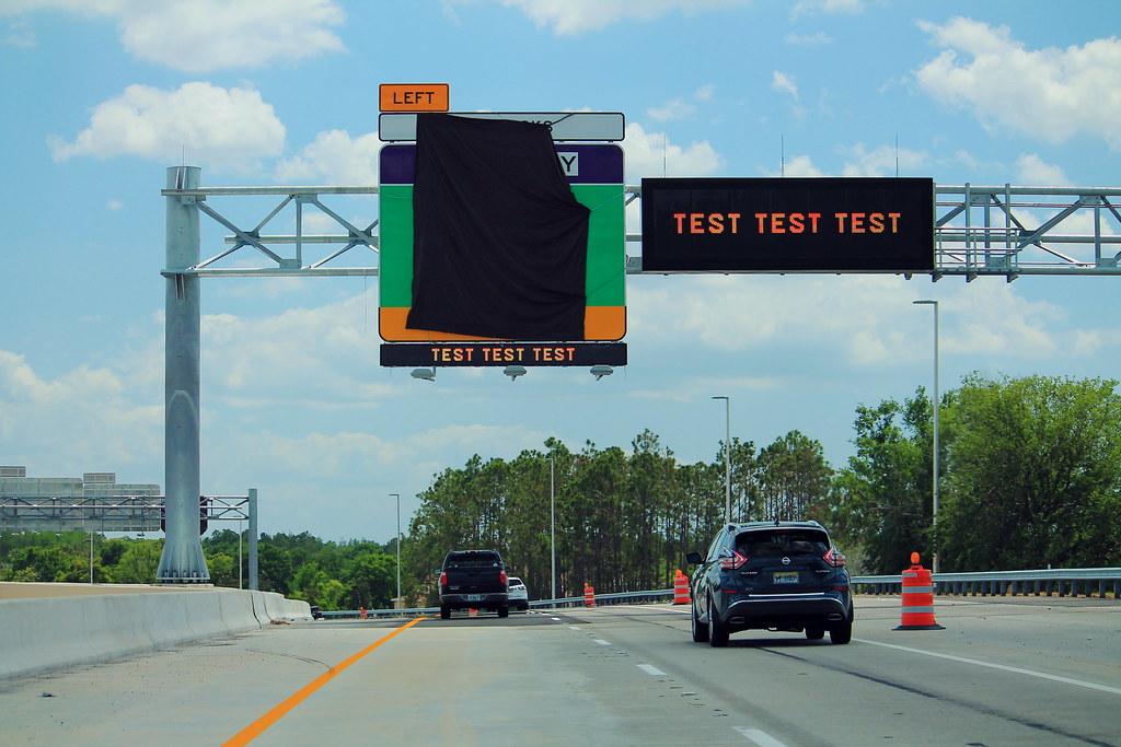 FL589 South - VMS Test Test Test