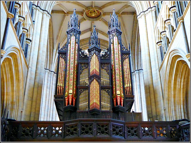 The Organ at Beverley Minster ...