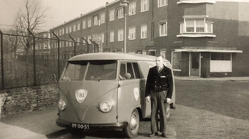 PF-00-53 Volkswagen Transporter bestelwagen 1955