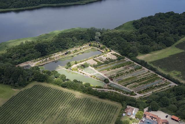 Broadland Nurseries in Ormesby St Margaret - Norfolk aerial image