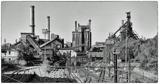 Stahlwerk in Liége / Seraing