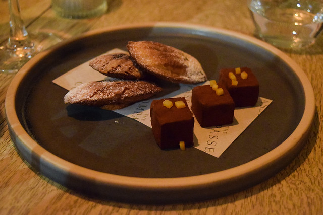 Petit Fours at The Compasses Inn and The Small Holding Guest Chef Dinner.