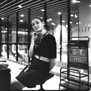 Lyon Airport Girl