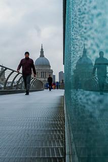 Millennium Bridge Reflection