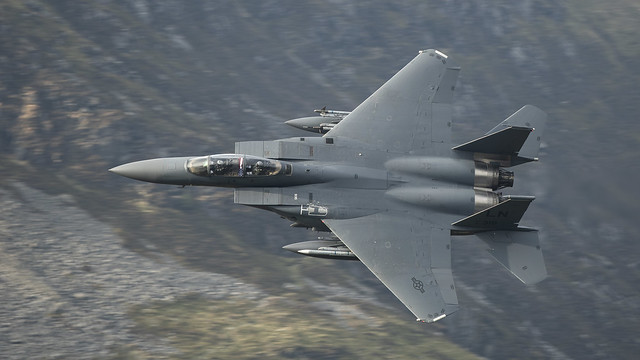 Stars and Bars, F15 Low Level