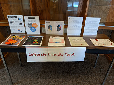 Diversity Week Display