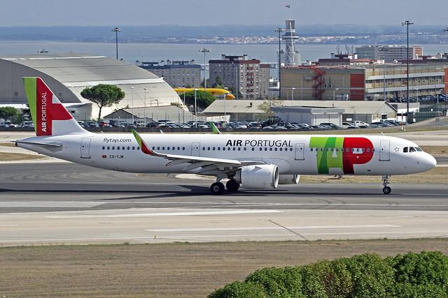 TAP Air Portugal Airbus A321-251N CS-TJM LIS 16-10-19