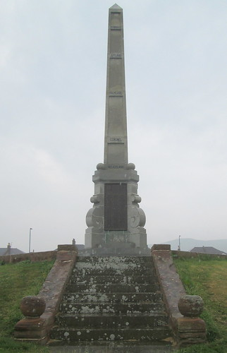 Girvan War Memorial Sea Facing Aspect