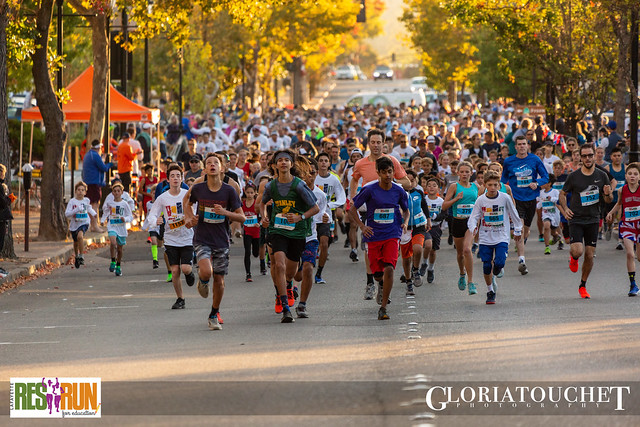 October 20, 2019 - Lafayette Res Run for Education - Photo by Gloria Touchet Photography: www.gloriatouchet.com