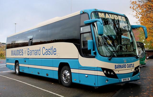 Maudes of Barnard Castle: 8990SM Plaxton Panther