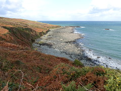 South West Coast Path near St Ives, Cornwall