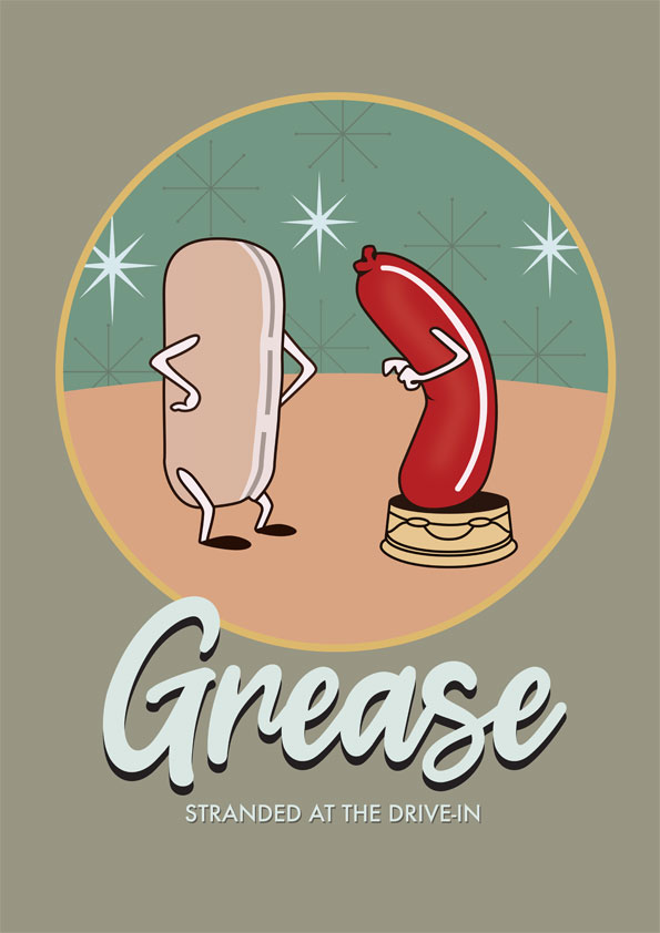 Grease - Alternative Movie Poster