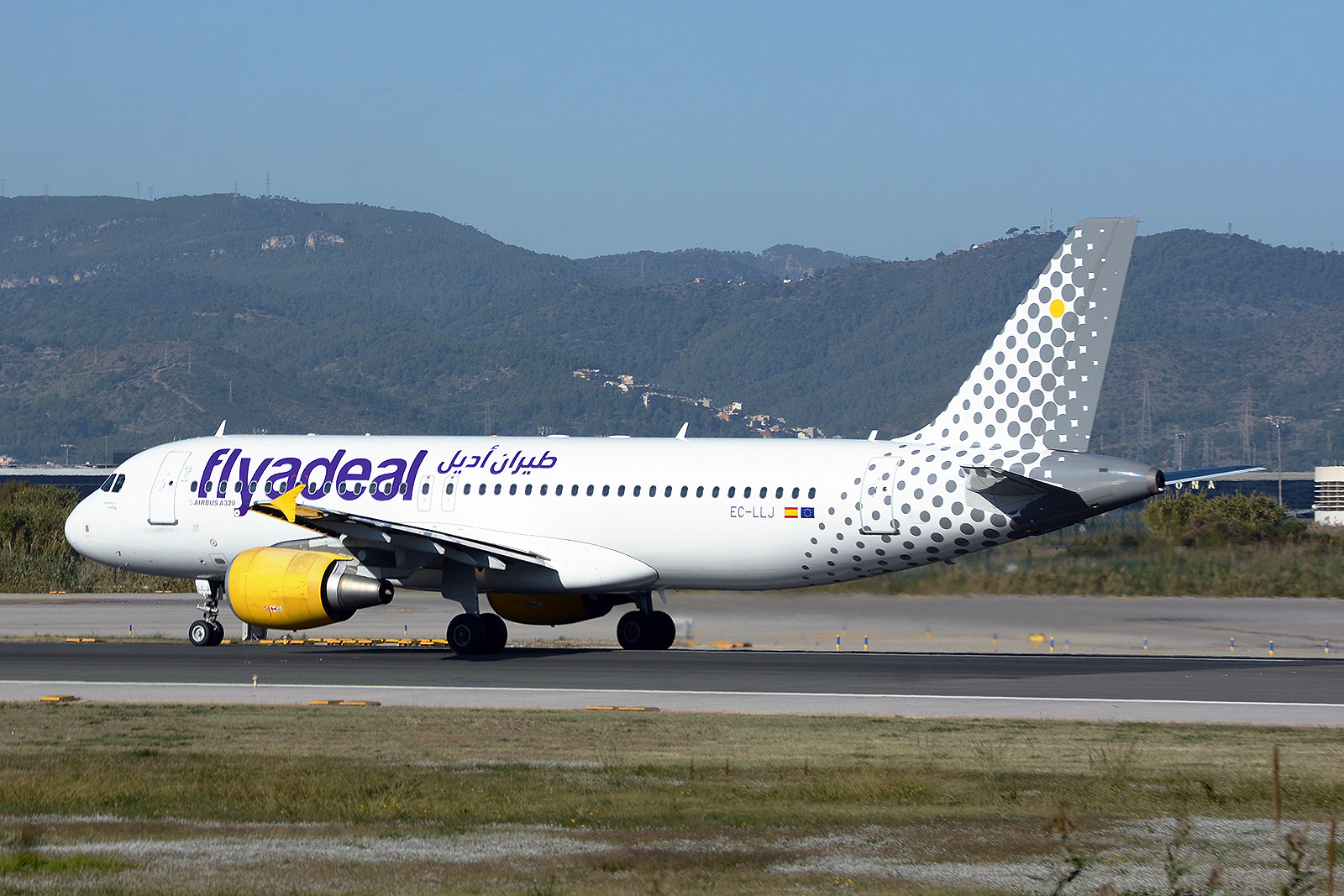 FLYADEAL EC-LLJ AIRBUS A320 BCN/LEBL