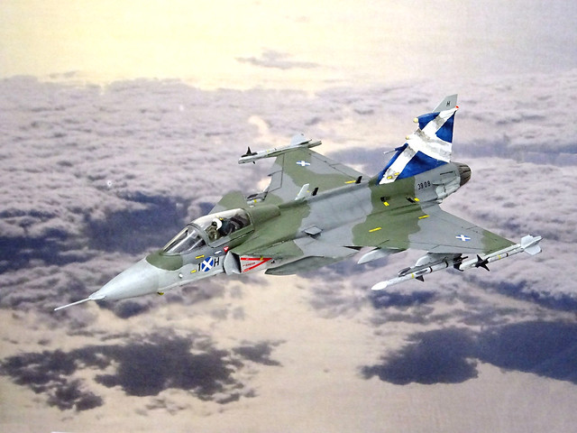 "1:72 Saab 39A ""Grìbhean F.1""; aircraft"