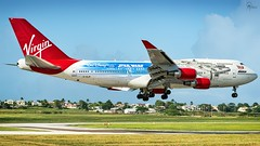 Virgin Atlantic   G-VLIP  Boeing 747-443   BGI