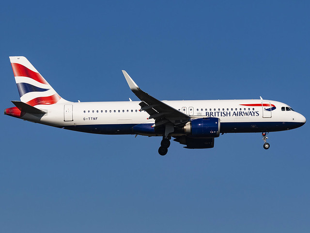 British Airways | Airbus A320-251N | G-TTNF
