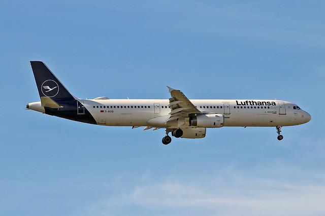 D-AISQ Airbus A.321-231 Lufthansa Named Lindau AGP 18-10-19