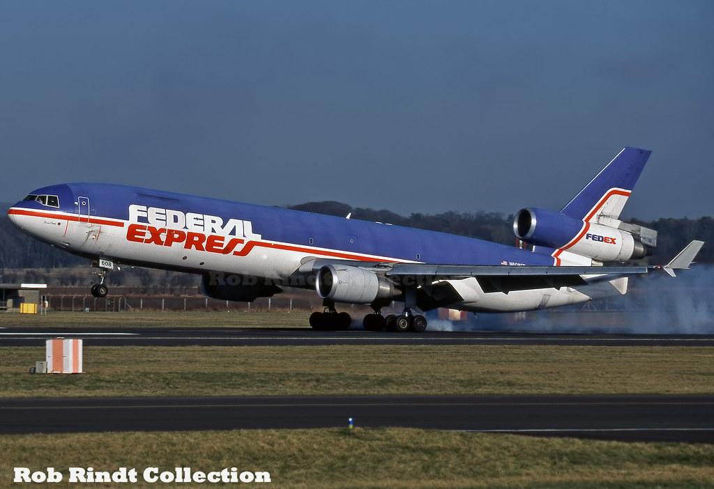 Federal Express MD-11F N608FE