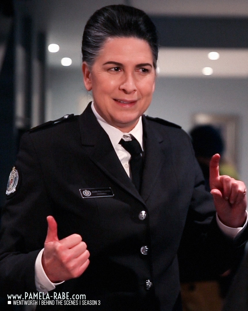 Pamela Rabe as Joan Ferguson | Wentworth Season 3 Behind The Scenes