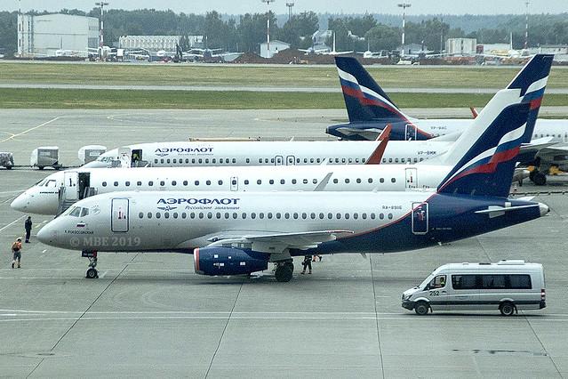 RA-89116 | Aeroflot Airlines | Sukhoi Superjet 100-95B | CN 95165 | Built 2018 | SVO/UUE 14/06/2019