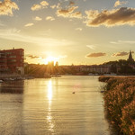 10. August 2018 - 20:19 - A sunset evening in Stockholm last year.