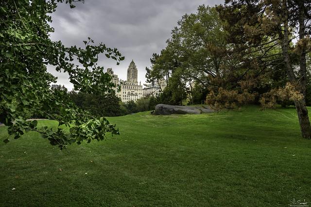 Cedar Hill in Central Park New York - USA