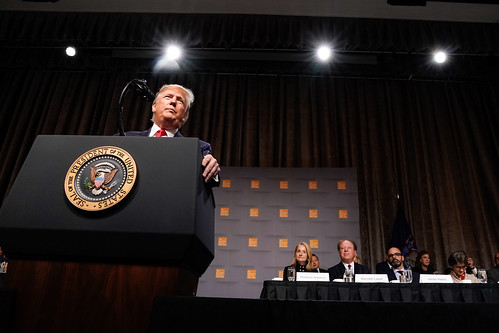 President Trump Delivers Remarks at the Economic Club of New York | by The White House