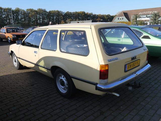 Opel Rekord 1.9N Caravan 1980