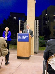 Last week's unveiling and dedication ceremony brought together San Antonio Mayor Ron Nirenberg, Consul General of the People's Republic of China in Houston, Cai Wei, Xiao Wei, Deputy Chairman of the Wuxi Museum and several other dignitaries.