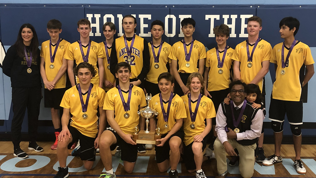 HWIAC Junior Boys Volleyball Champions - Photo Archive