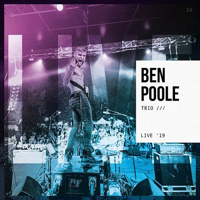 Blues Today | BEN POOLE 'TRIO /// LIVE '19' Blues rock guitarist, singer-songwriter Ben Poole will release his new double live album Trio /// Live '19 on Friday 31st January 2020. The album was recorded over three nights in July 2019 at Old Schoolhouse in
